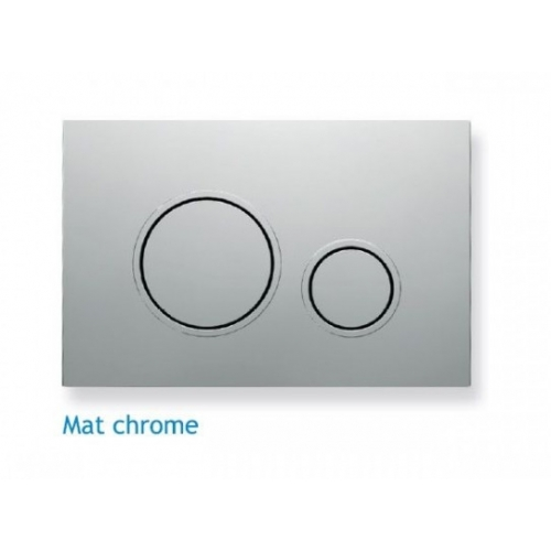 Кнопка смыва Koller Pool Twin Matt Chrome
