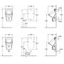 Писсуар Villeroy & Boch Omnia Architectura 55740001, цвет белый альпин