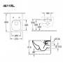 Унитаз подвесной Villeroy&Boch Venticello DirectFlush + cидение SoftClosing 9M80S101