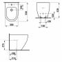 Биде напольное Laufen Pro H8329520003021 (без боковых отверстий)