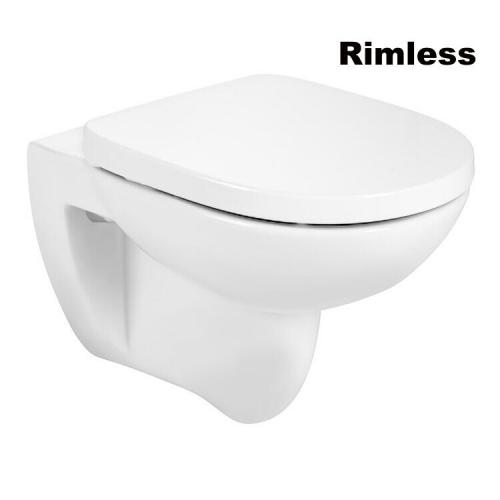 Унитаз подвесной Roca Debba Round Rimless (A34H996000)